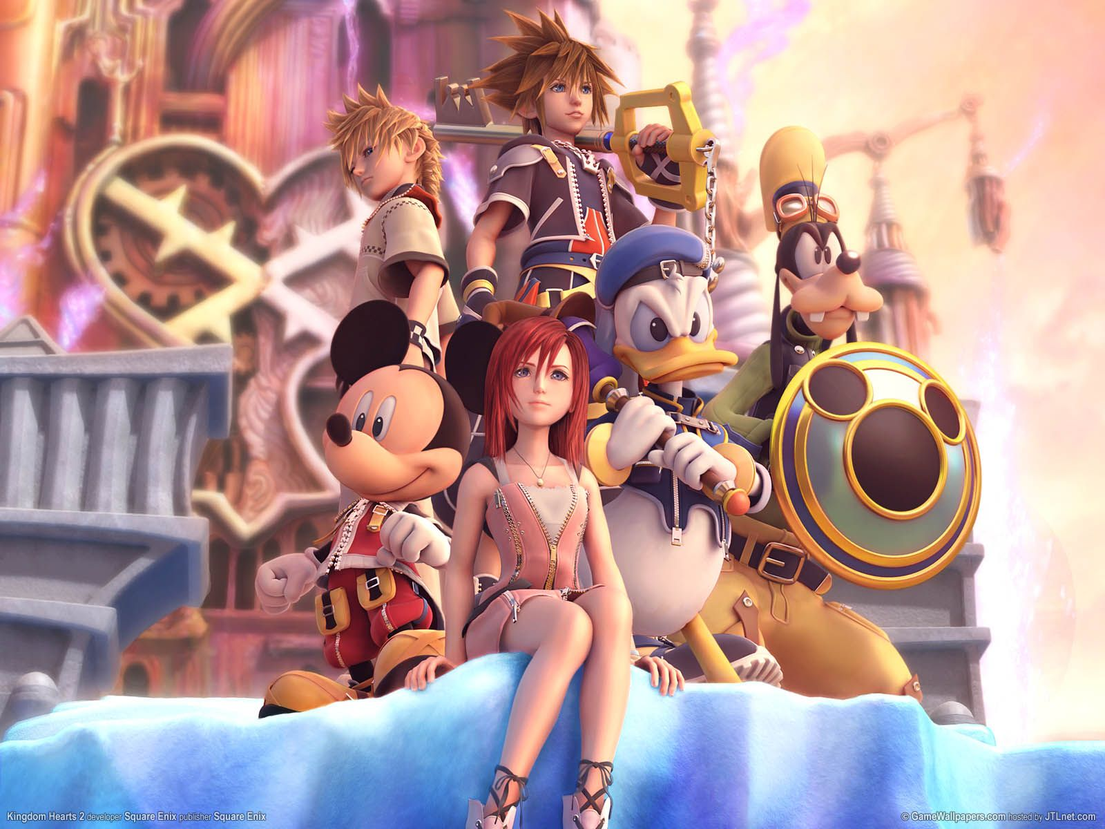 Kingdom Hearts Wallpaper And Gif Celebration Data Heavy Sidearc